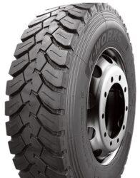 315/80R22,5 TL KMD406 156/150K 3PMSF LEAO-nová pneu, záberový dezén, zadná náprava