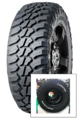 215/75R15 RWL 106/103Q M+S 8PR Huntsman RWL SUNWIDE-nová pneu, terénny dezén s bielym popisom bočníc